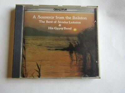The Best of Sándor Lakatos & His Gypsy Band A Souvenir From the Balaton CD