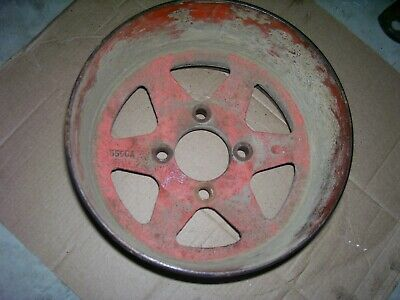 Vintage Ji Case Dc Tractor - Cast Iron Belt Pulley - 7 14 Wide- 1950
