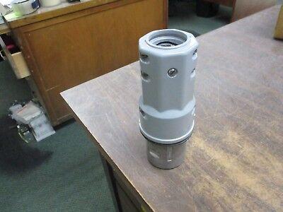 Crouse-hinds Arktite Plug Apj 6485 M72 60a 600v 3w 4p Missing Bushing Used
