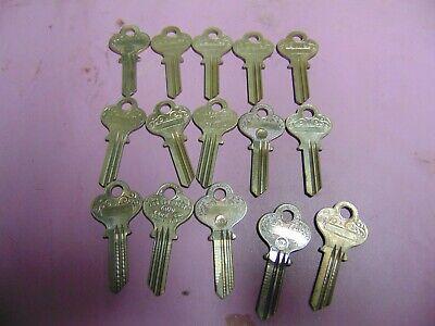 15 Keys Old Eagle 1014 Keys Blanks Uncut  Locksmith