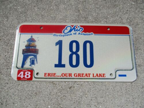 Ohio Lighthouse license plate #   180