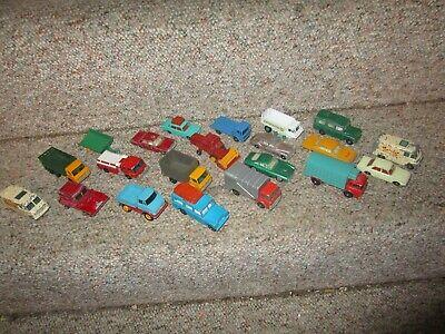 VINTAGE LOT OF 20 MATCHBOX CARS 1960s