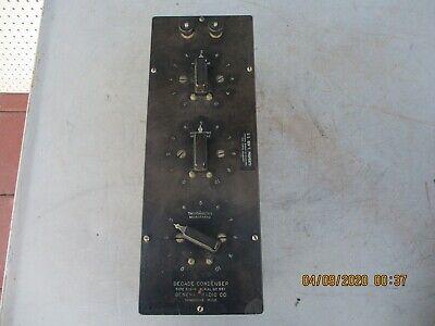 General Radio Co Type 219-g Decade Condenser Box