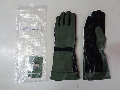 New Handlogic Gore-tex Pol Fuel Handlers Leather Glove 70w Medium Sage Green