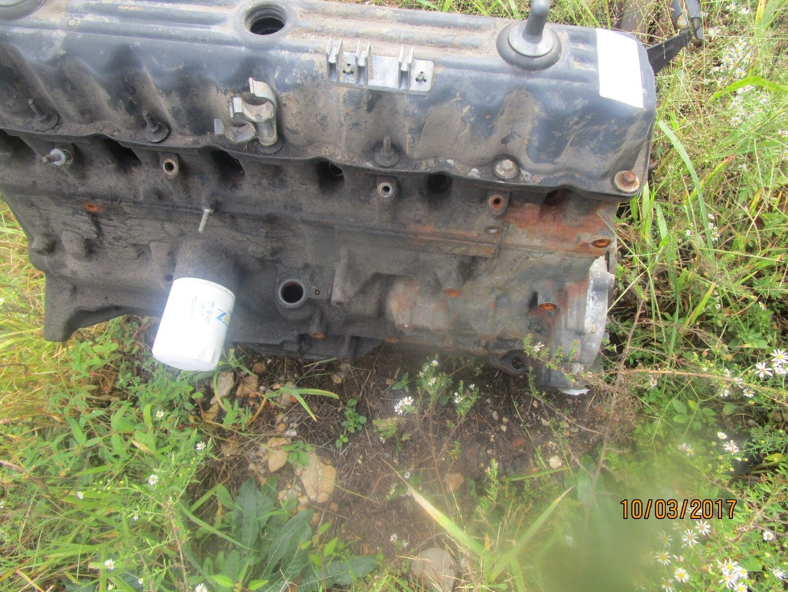Used Jeep Block Parts For Sale 4 0l Engine Bellhousing Diagram Oem 1999 2004 Grand Cherokee Wrangler 40l With Main Caps