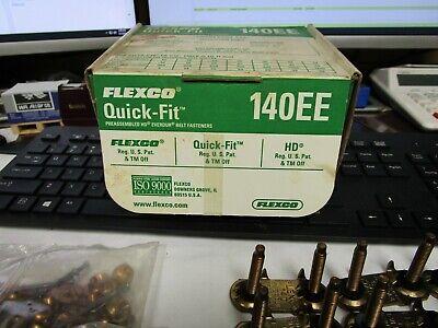 Flexco Quick-fit Pre-assembled Hd Everdur Belt Fasteners 140ee