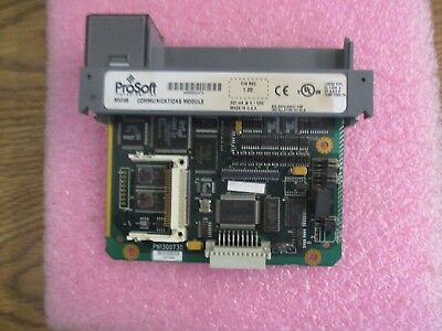 Prosoft Allen Bradley Mvi46-adm Communications Module. Fw Rev. 1.02