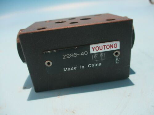 NEW REXROTH YOUTONG Z2S6-40  CHECK VALVE