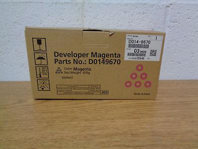 Genuine Ricoh D014 9670 Magenta Developer For C6000 C7000 C550ex C700ex   Ct