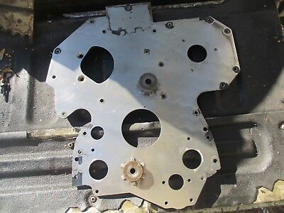 2002 John Deere 6420 R134527 4.5 Power Tech Engine Front Timing Spacer Plate