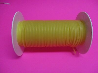 50 Feet 116 I.d X 132 W X 18 O.d Surgical Latex Rubber Tubing Amber Reel