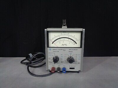 HP 427A Voltmeter