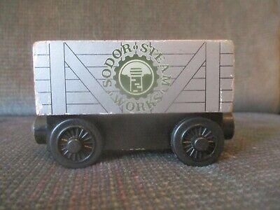 Thomas and Friends Wooden Railway Scrap Car Sodor Steam Works train
