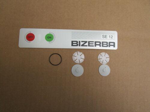 BIZERBA SLICER SE12 DECO FOIL AND BUTTON KIT  OEM#6037600300