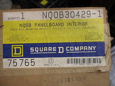 Square D Nqob30429-1 100 Amp 120208 Volt 30 Circuit Panelboard Interior- New