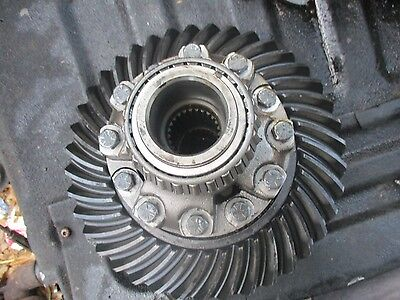 Allis Chalmers 7000 Diesel Farm Tractor Differential Ring Gear Pinion Assembly