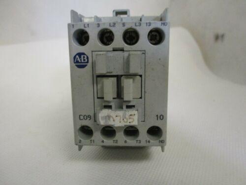 ALLEN-BRADLEY 100-C09*10 CONTACTOR 110/120 V COIL 100-C09D10