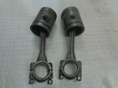 John Deere B. Early Styled B Set Of Pistons And Rods.