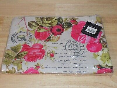 Ladelle Table Runner 40790 Postcards Printed Runner 13