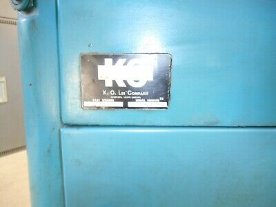 K.o. Lee Long Bed Tool And Cutter Grinder B2060 W Tooling