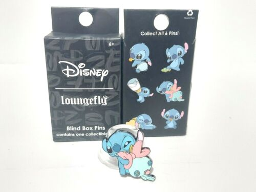 Lilo & Baby Stitch Chewing with Scrump Loungefly Mystery Blind Box Pin Disney