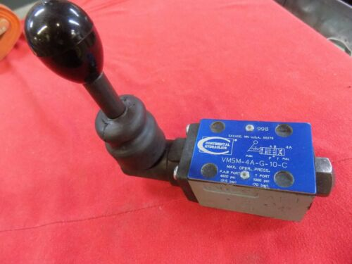 Continental Hydraulics VM5M-4A-G-10-C Directional Valve