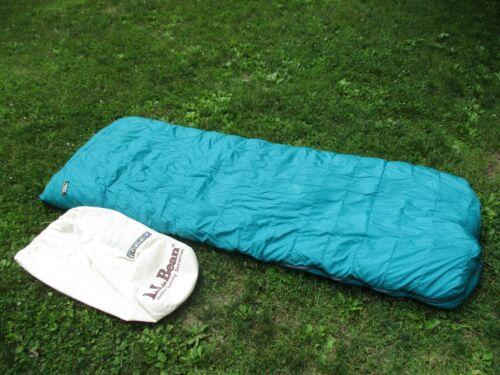 Vintage LL Bean Sleeping Bag - 0 Degree - LONG- Goose Down Filled