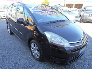 citroen picasso c4 7 seater diesel turbo automatic wagon 2007 Klemzig Port Adelaide Area Preview