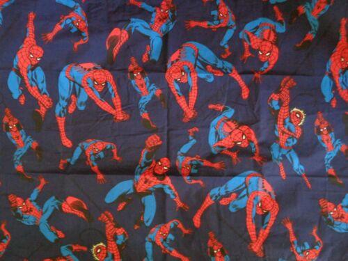 NEW POTTERY BARN  SPIDERMAN SPIDER-MAN NAVY  TWIN DUVET & STANDARD PILLOW SHAM