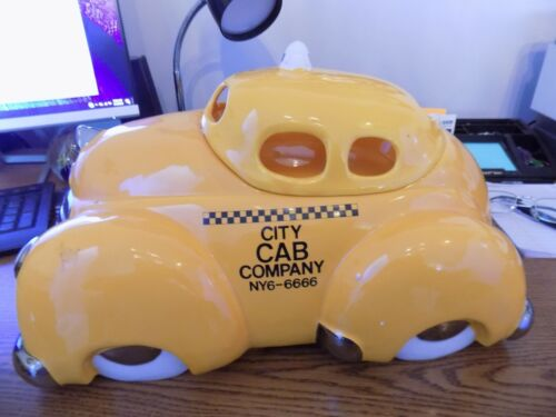 Vintage Collectors New York City Cab Cookie Jar  New
