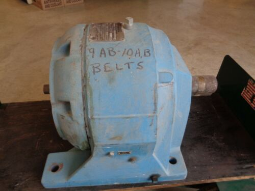 2945Y152B Link-Belt  CTI speed Reducer 7.83 HP and 25.6 Ratio (see pictures)