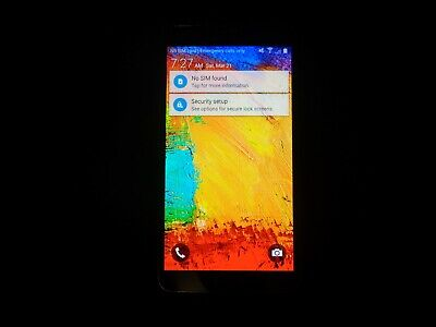 Samsung Galaxy Note 3 (Verizon) Smartphone, 32GB Cell Phone, SM-N900V