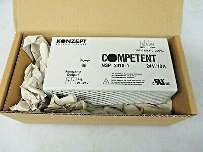 Konzept Energietechnik Power Supply Competent 24v10a Nsp 2410-1