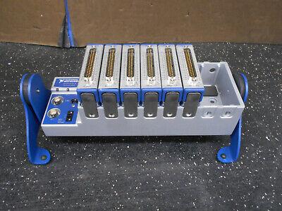 National Instruments Ni Cdaq-9178 8-slot Compact Daq 4 Ni-94032 Ni-9205 Modules