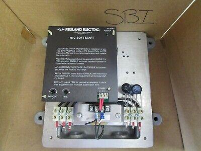 Reuland Electric Rtc Soft Start Control 15hp 15 Hp Rtc-055-346-dnk-x 460v 28a