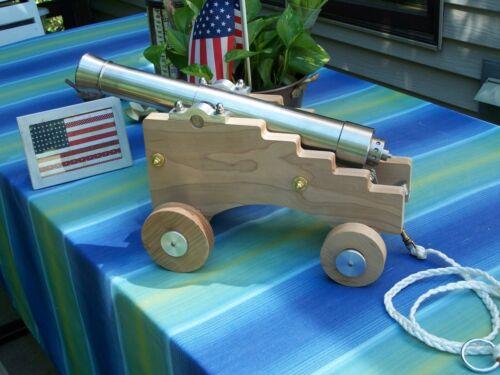 1841 6 Pdr.10Ga lanyard fire breech load black powder cannon LOUD Awesome Look!!