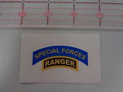"Special Forces  and Ranger Tab Decal  2"" MACV SOG  Green Beret"