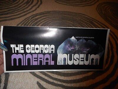 Vintage The Georgia Mineral Museum