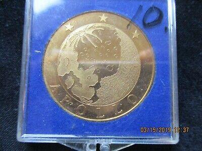 NASA APOLLO 12 MISSION COMMEMORATIVE COIN from collection of SCOTT Mac LEOD