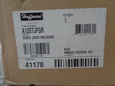 Hoffman Screw Cover Enclosure A1287jfgr