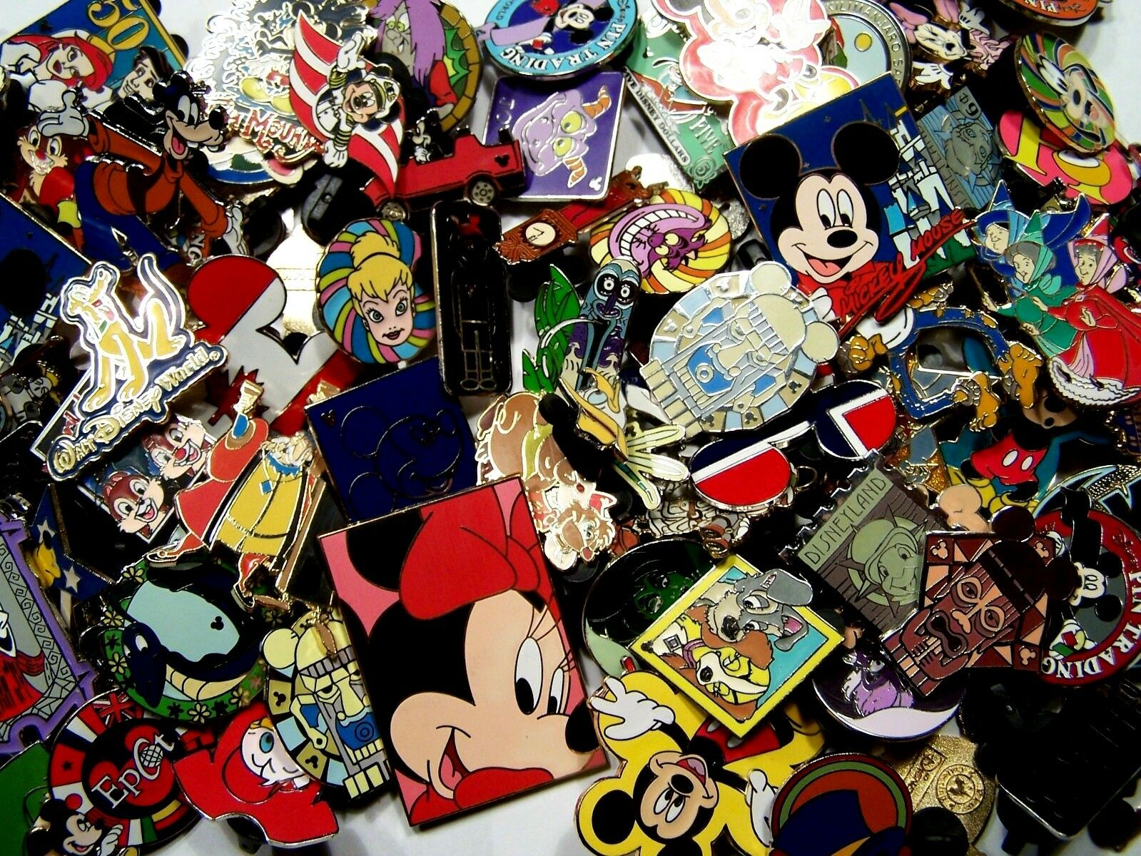 ::DISNEY PINS lot of 100 pins Free Shipping 100% tradable no duplicates