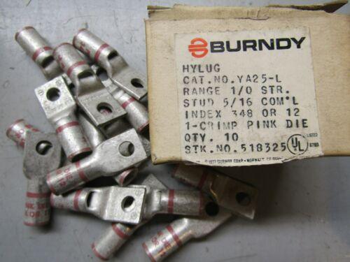 Burndy YA25-L Lot of 15!