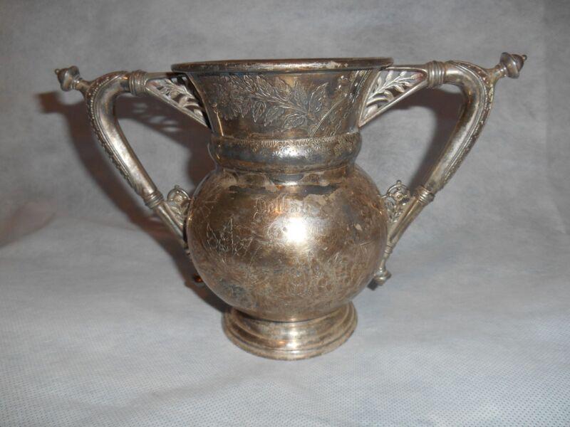 Antique/Vintage Sugar Vase by Rogers & Bro Silver Triple Plate L945