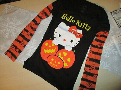 Hello Kitty 🧡Halloween Knit Top girls Juniors s 3/5](Hello Halloween)