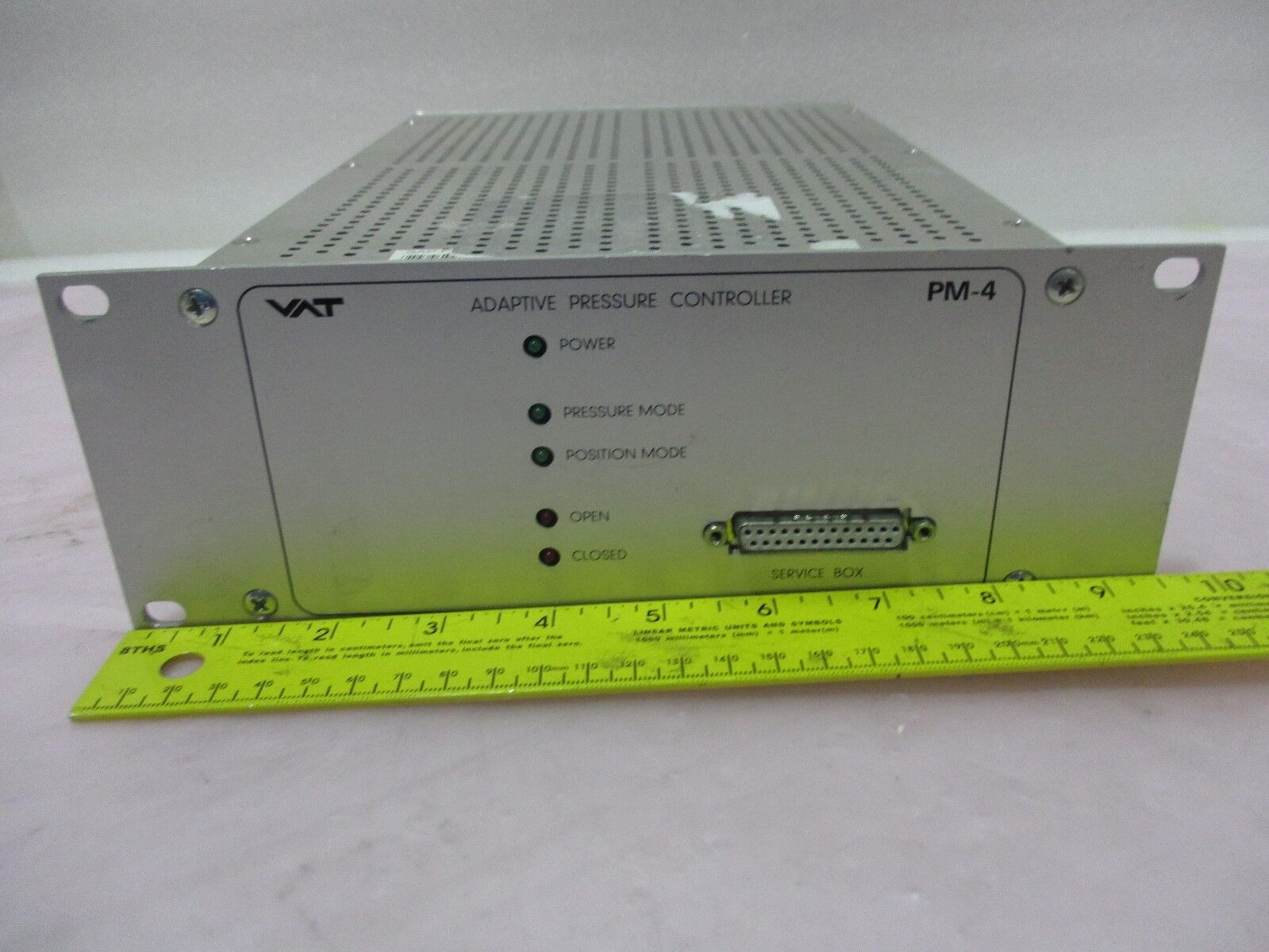 VAT PM-4 Adaptive Pressure Controller FABR 641PM-94NM-1001/005  420427