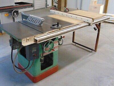 Powermatic Table Saw Model 66 - 10 Blade 3hp 3ph Biesemeyer 52 Fence