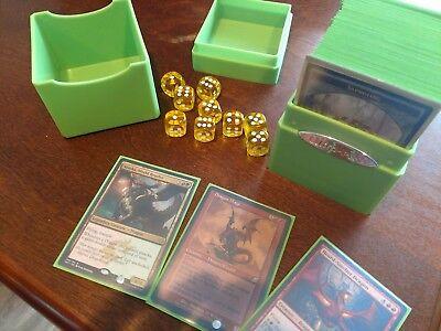 EDH MTG RED/Green Dragon Deck