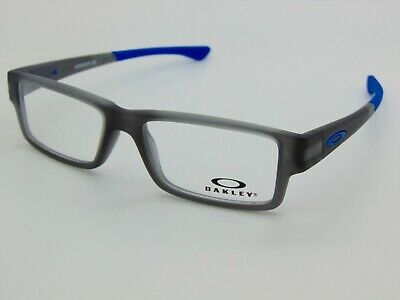 OAKLEY Junior AIRDROP XS OY8003-0348 Satin Grey Smoke 48mm Kids Rx Eyeglasses