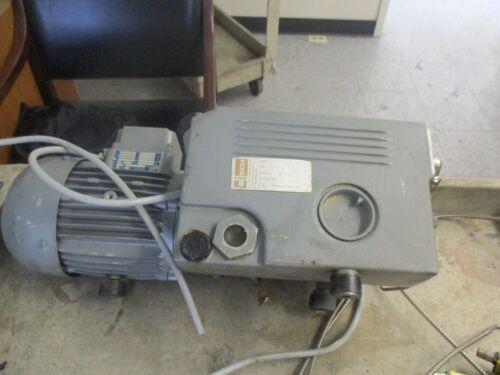 Busch: RB 0016  B 5L3 Single Stage Rotary Pump with Katt : FN80  Motor  <