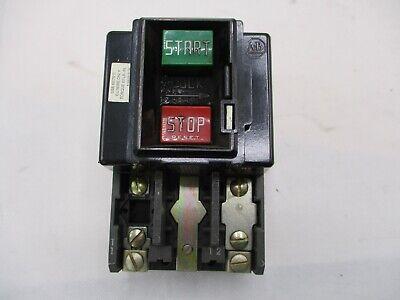 Allen-bradley 609-aox Series F Manual Motor Starting Switch